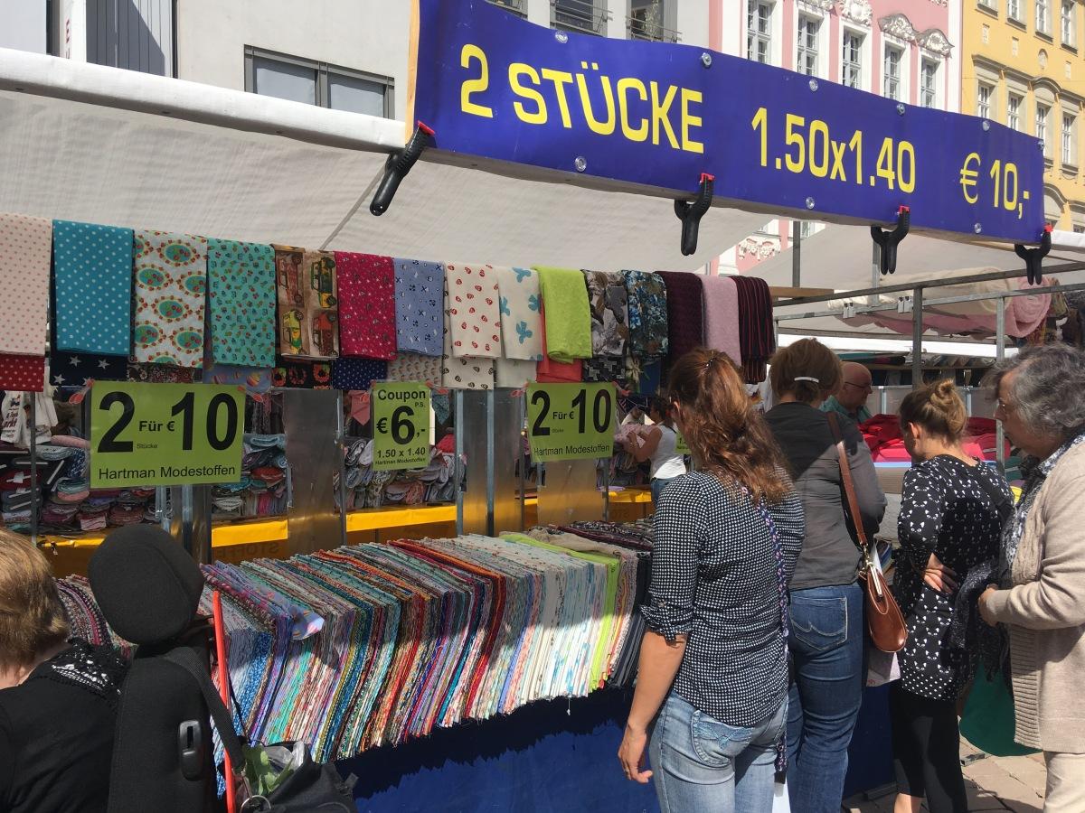👛 Alle Stoffmarkt Termine 2017… {Zweites Halbjahr}