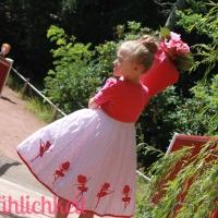 🎉 Schulanfangskleidchen für kleine Ballerinas... {Drehkleid}